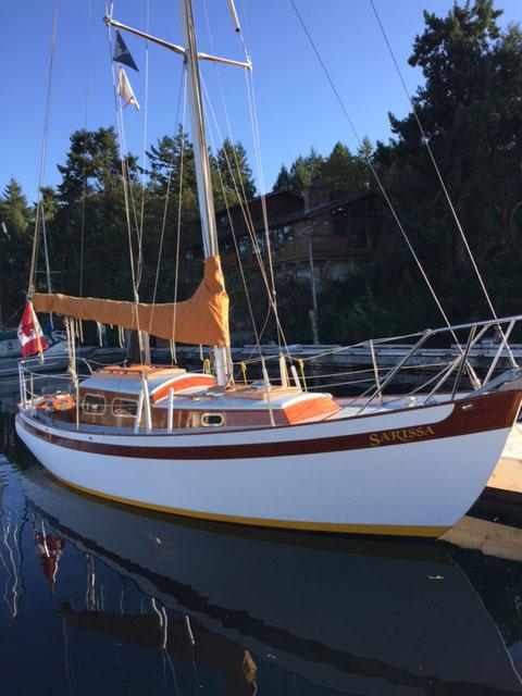 Sarissa V 74.5! in North Vancouver