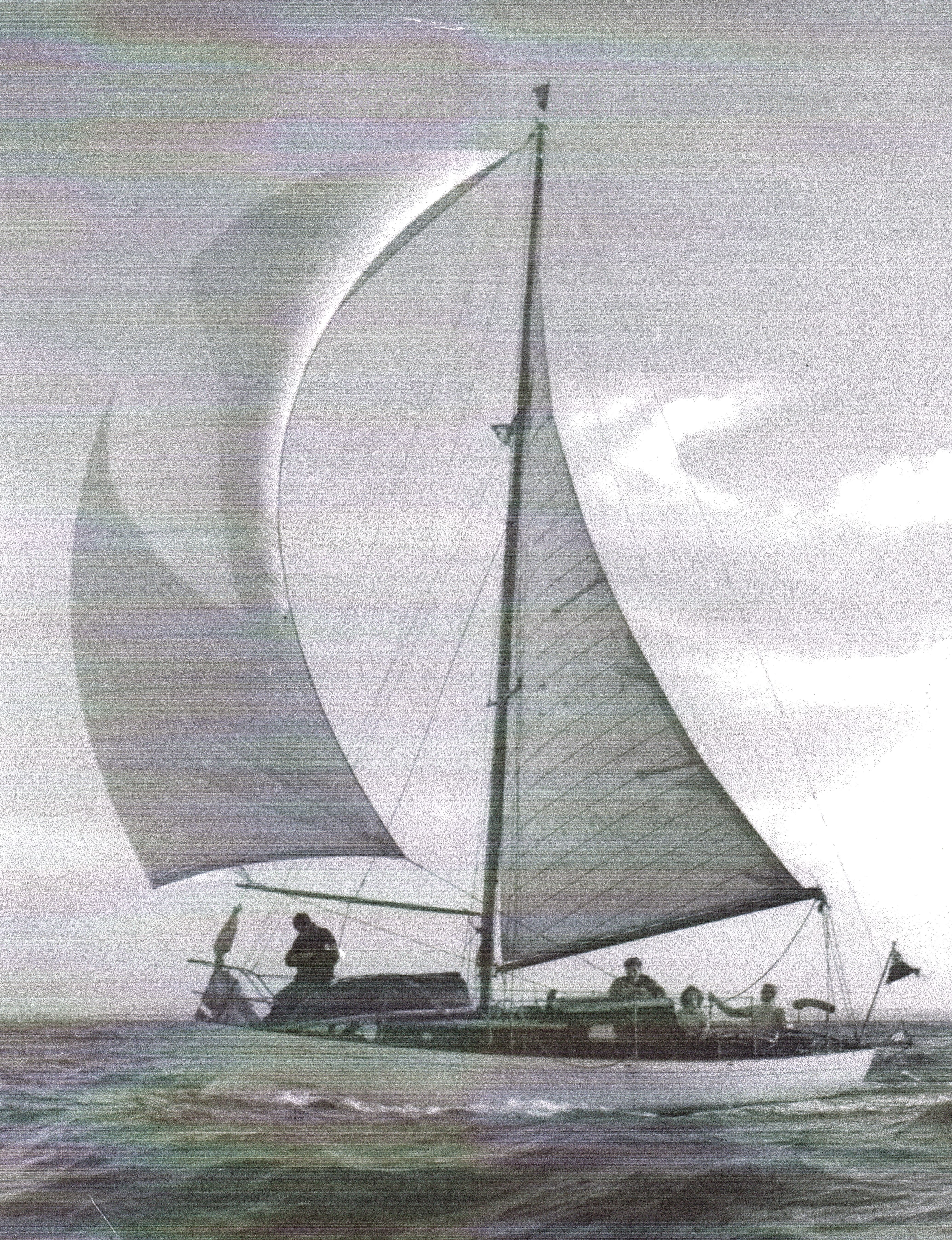 Betsinda sailing in 1956